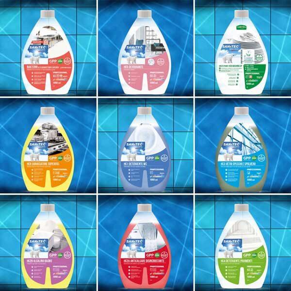 Detergenti super concentrati iSuper9